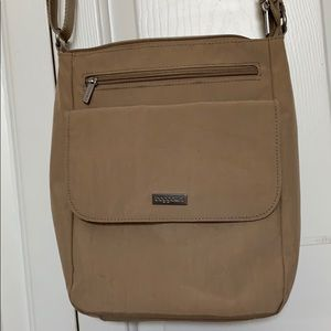 Baggallini tan crossbody bag